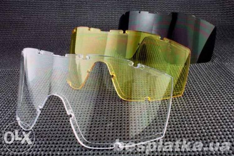 Маска очки Revision Desert Locust тактические, 3 сменных линзы, 3 мм
