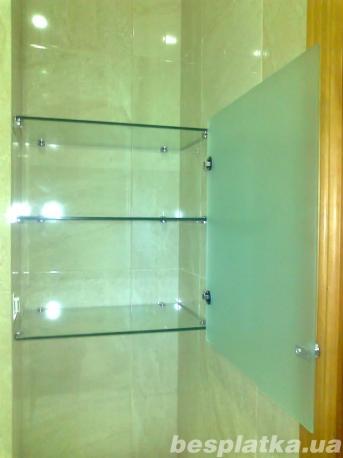 Изделия из стекла и зеркала для ванной и туалета