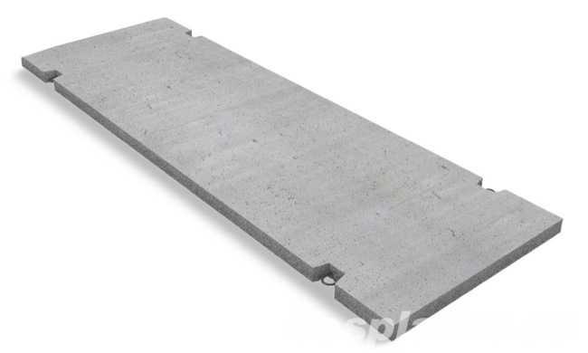 Плиты дорожные ПДС 1,5-3,0-0,16