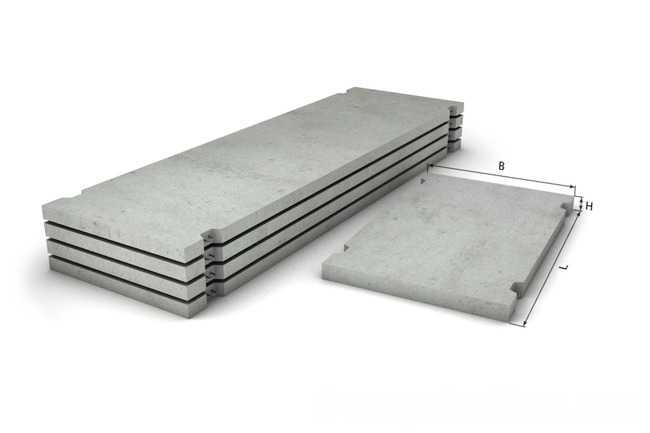 Плиты дорожные ПДС 2,0-3,5-0,16