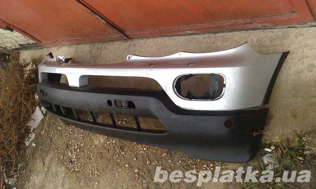 Бампер передний BMW X5 E53 рестайл