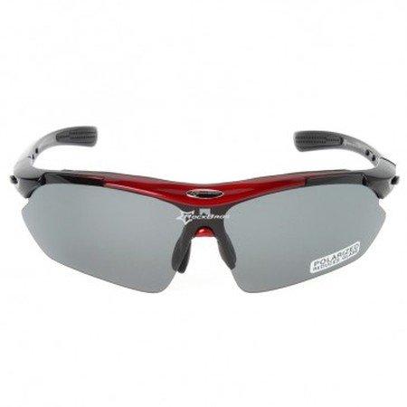 Велосипедные очки поляризационные со сменными линзами и защитой Uv400