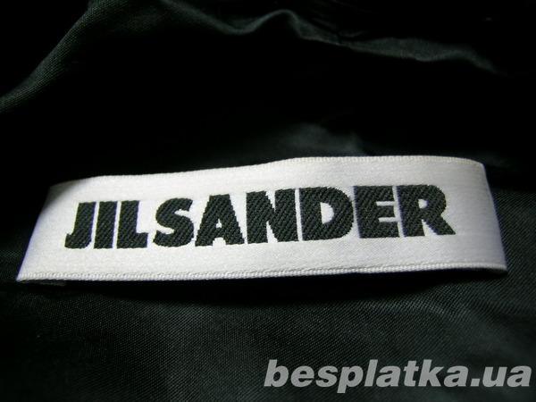 куртка с воротом, закрывающим шею от Jil Sander