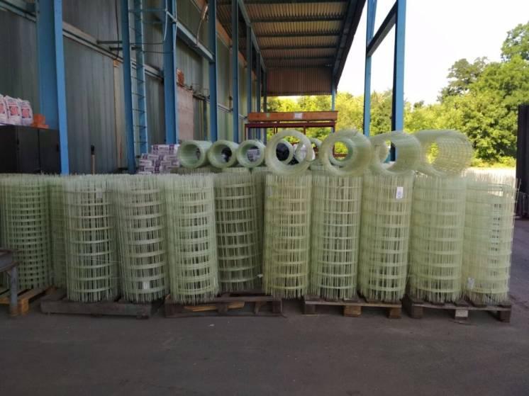 Сетка кладочная композиционная полимерная в ассортименте, цена за м.кв
