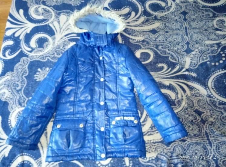 Очень красивая курточка Pretty Precious на 8-9 лет,