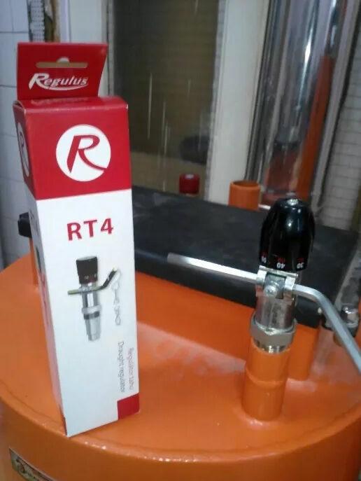 Регулятор тяги для котла Regulus Rt4 с цепочкой Esbe Icma Honeywell