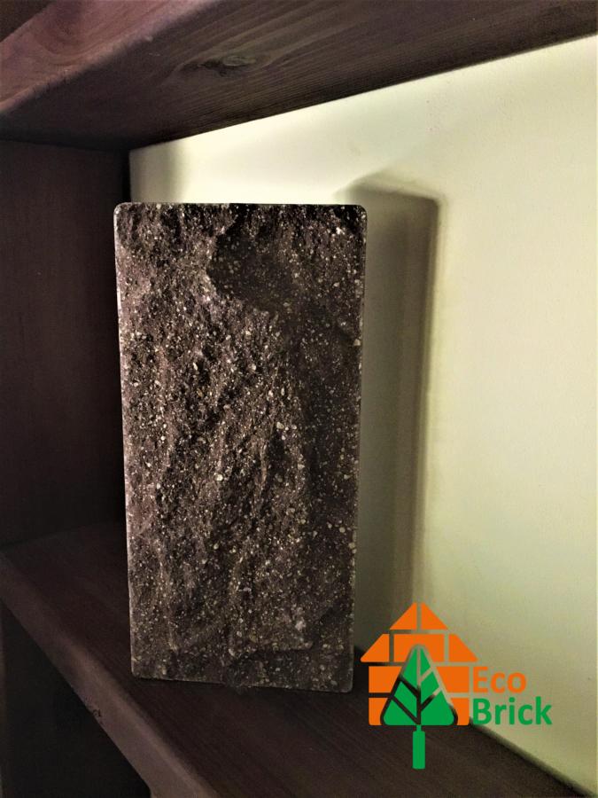 Плитка цокольная облицовочная Ecobrick коричневая