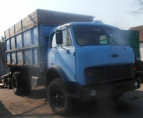 Продаем самосвал маз 5334, 8,2 тонны, 1984 г.в.