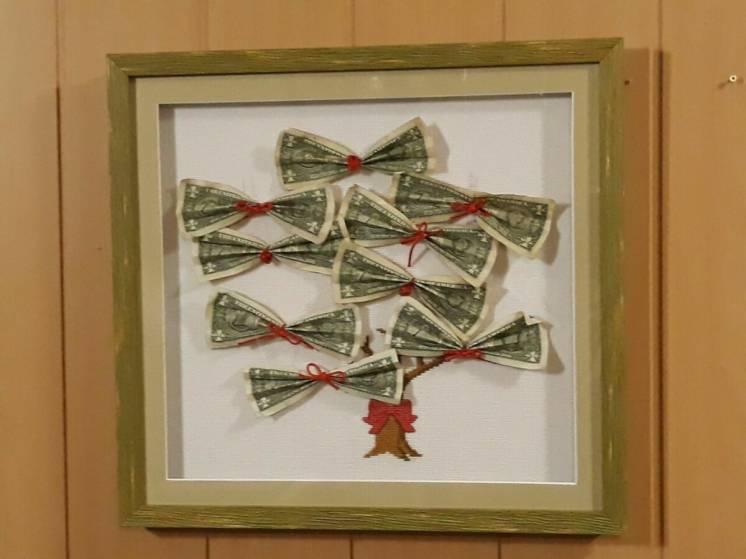 Картина, денежное дерево