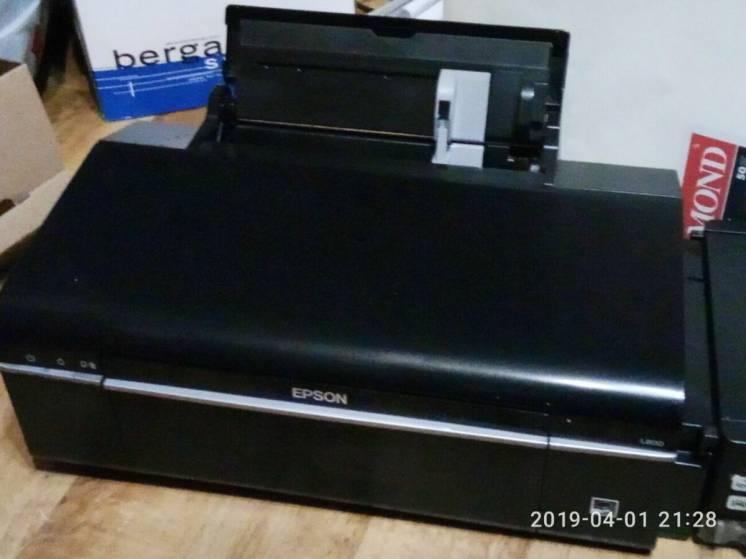 Принтер Epson L800 фабрика печати