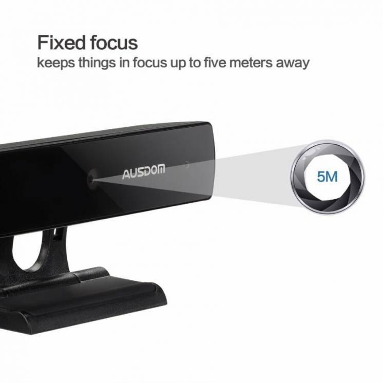 Веб камера Ausdom Aw625 1080p Hd по уценке!