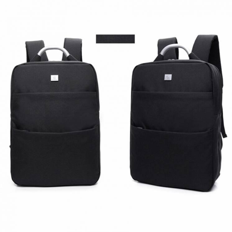 Молодежный стильный тканевый рюкзак, сумка прямоугольной формы.