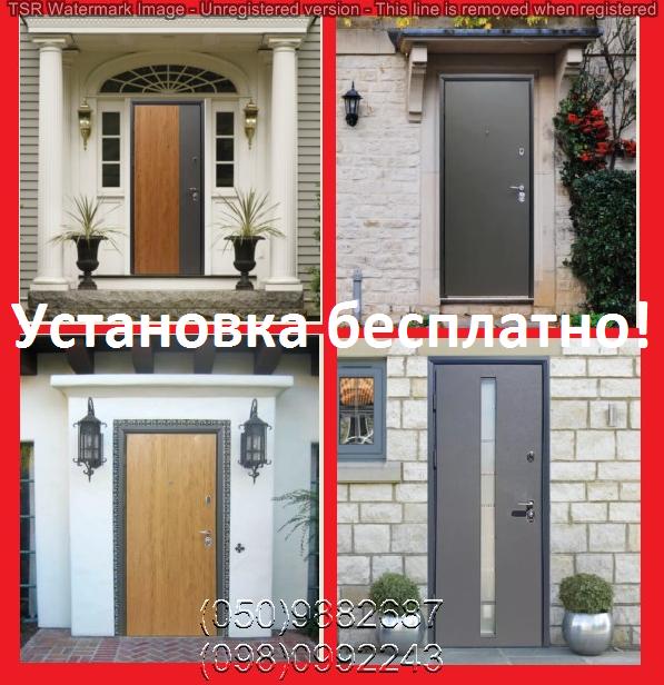 Двери уличные, коттеджные, входные. большие скидки!/двері вуличні