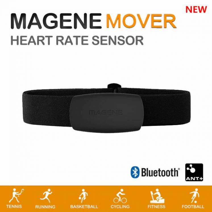 Пульсометр нагрудный Magene Mover Bluetooth 4.0 Ant+