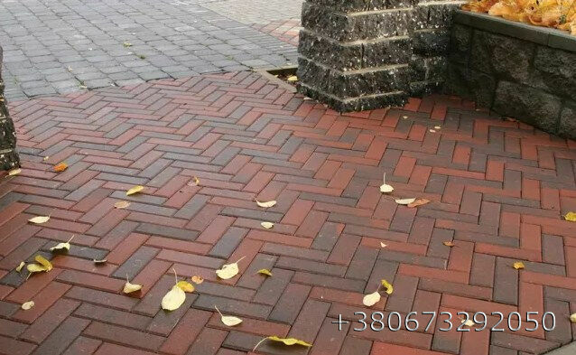 """Тротуарная плитка """"Кирпичик"""" по оптовым ценам. доставка+укладка."""