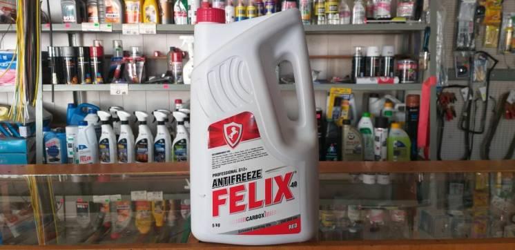 Антифриз красный G12 5л Felix