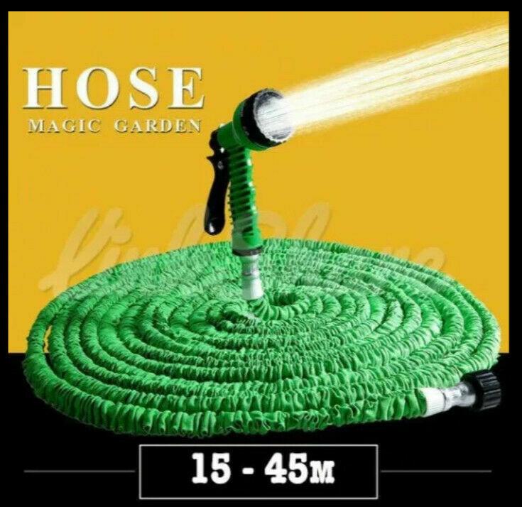 Шланг для полива Xhose 45 м+подарок распылитель-лейка