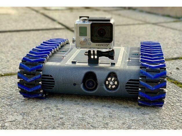 Fpv танковый ровер с управлением по Wi-fi