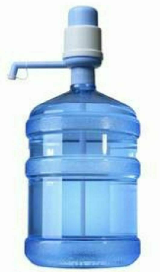 Бутыли 19/20 л для воды + помпа механическая