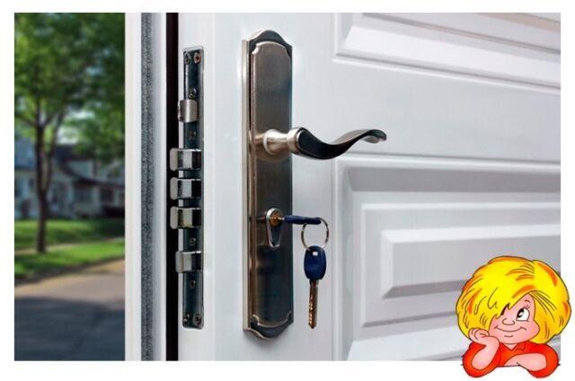 Установка дверей- входные и межкомнатные, замена или врезка замков