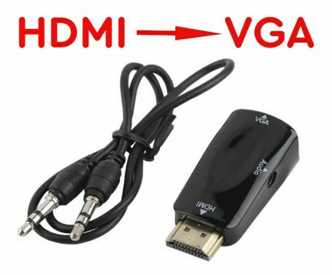 Переходник, конвертер, адаптер, эмулятор монитора Hdmi - Vga