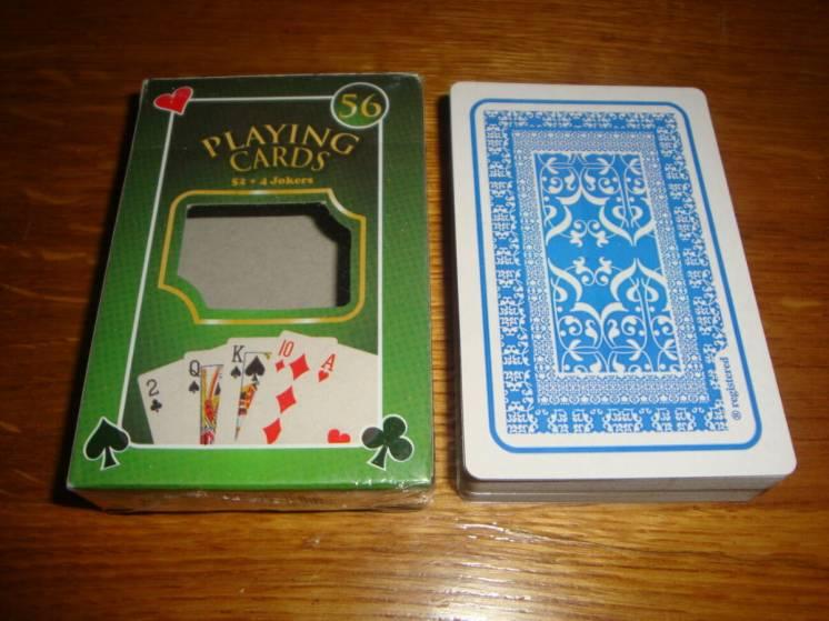 Игральные карты 56