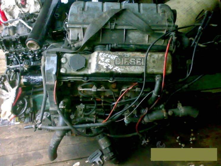 Двигатель мотор двигун Ford Escort, Ford Fiesta, Ford Orion 1.6d