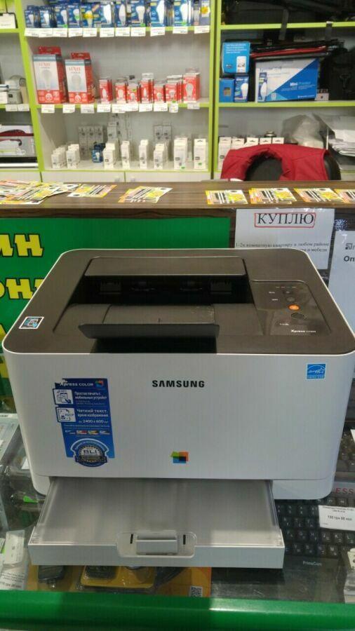 Цветной лазерный принтер Samsung Xpress Sl-c430w With Wi-fi (ss230m) +