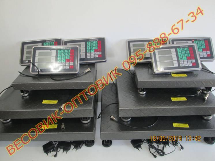 Весы торговые олимп Tcs-102С (2020г.в.) 300кг 600х450мм