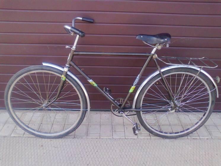 Велосипед минск (аист) 1991 года выпуска.
