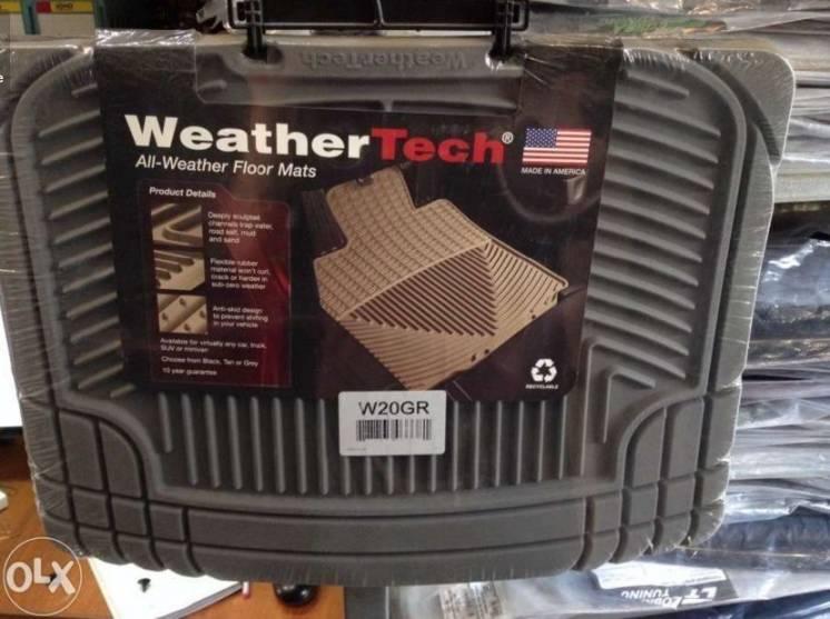 Коврики для авто Weathertech W2 и W20 (4 шт) сша