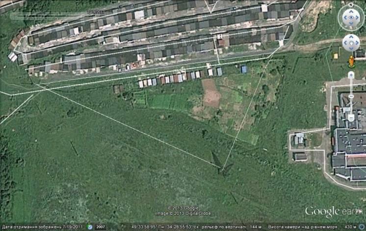 Большой земельный участок под бизнес 1 га продам в г.Полтаве
