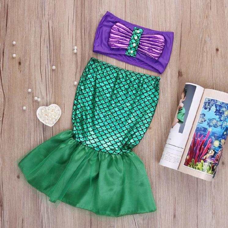 Платье костюм русалка блестяшка