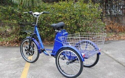 Электровелосипед Vega Happy 350w-36v колеса 22/20
