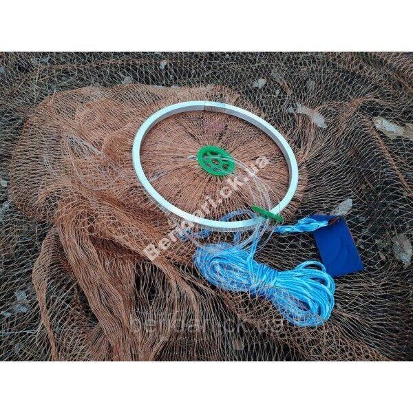 Кастинговая сеть нить алюминиевое кольцо