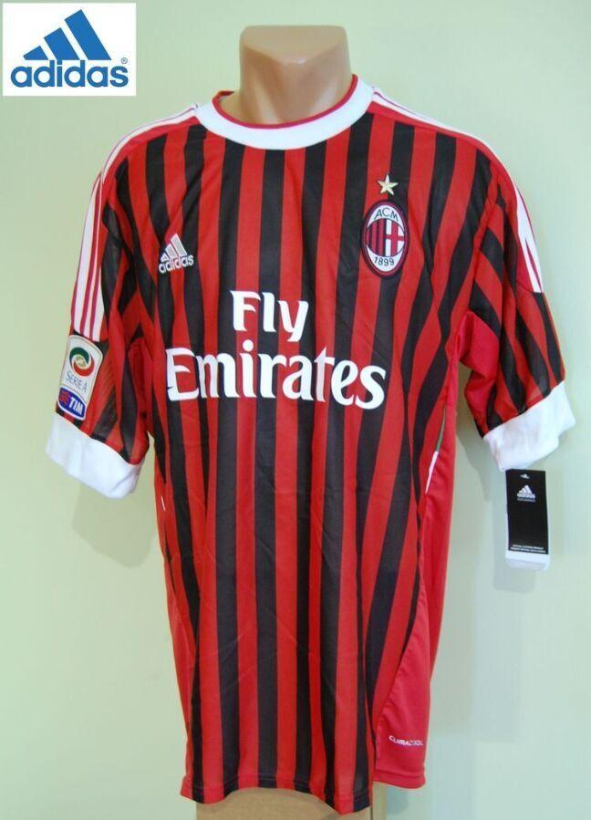 Новая футболка Adidas ас Milan