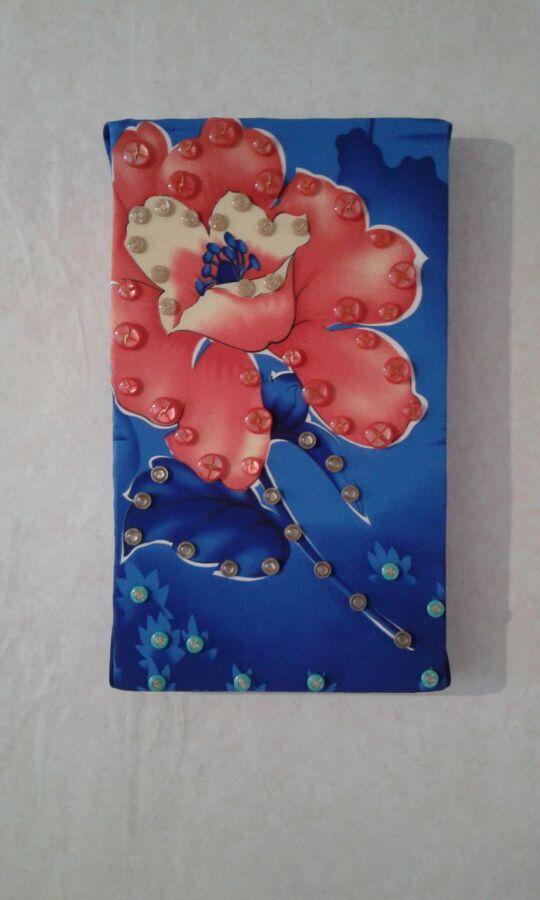 """Креативное панно """"Цветок""""-яркая стильная картина украшение интерьера"""