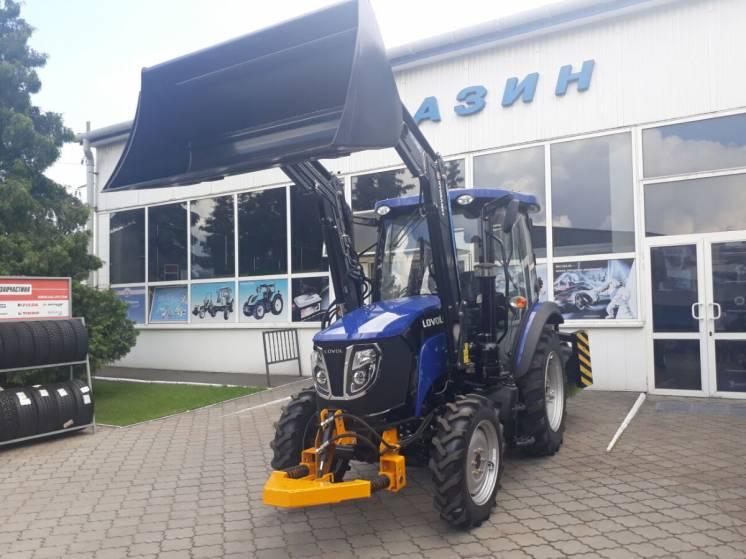 Комунальний трактор Lovol з комплектом обладнання!