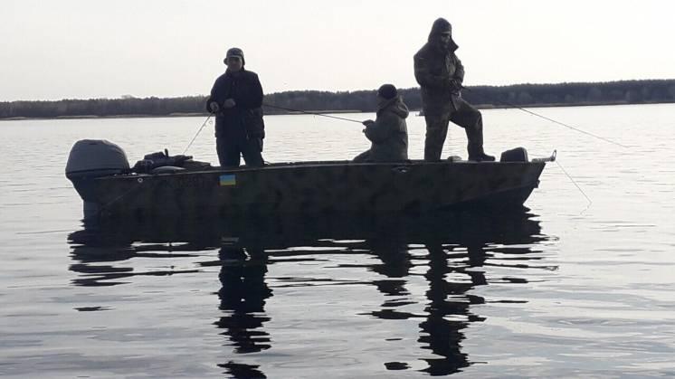 Организация рыбалки на днепре