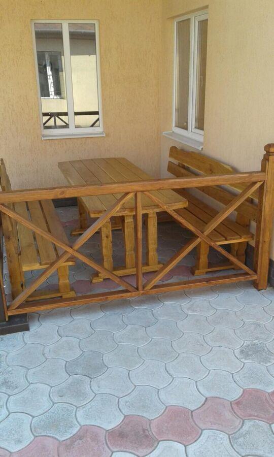 Уличная мебель садовая из дерева