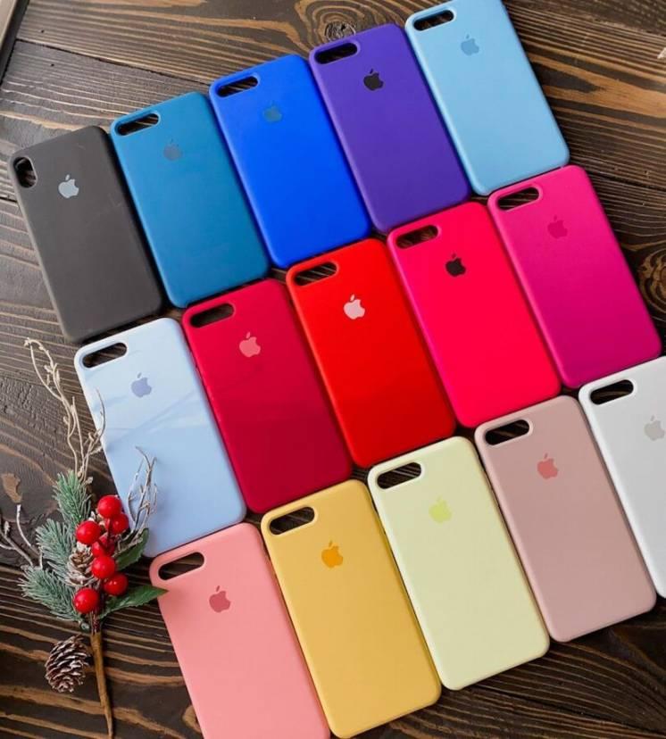 Чехол на айфон силиконовый Apple Silicone Case для Iphone