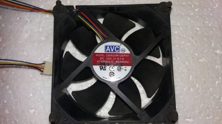 4-дюймовий вентилятор кулер Avc Ds09225r12ep007 90мм X 25мм 12v 0.1a