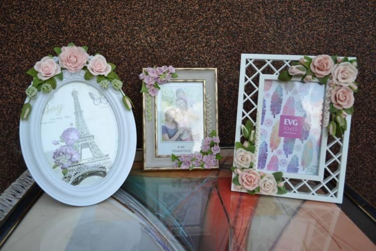 Рамки для фотографий. свадебные фоторамки.