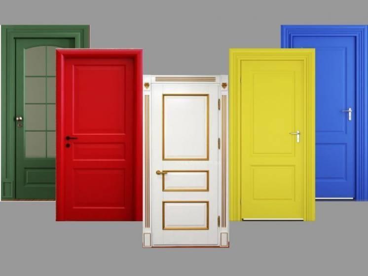 Грунтованные межкомнатные двери/дверь под покраску