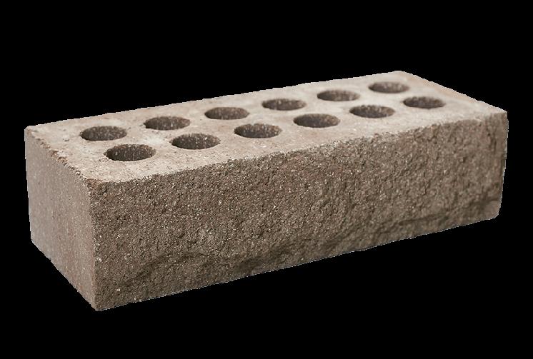 Кирпич облицовочный литос стандартный скала (рваный) шоколад