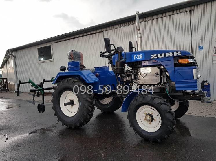 Минитрактор зубр т-25 оригінал! мототрактор Zubr T-25, 23 к.с трактор