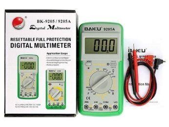 Тестер мультиметр Baku Bk-9205a с измерением конденсаторов, напряжения
