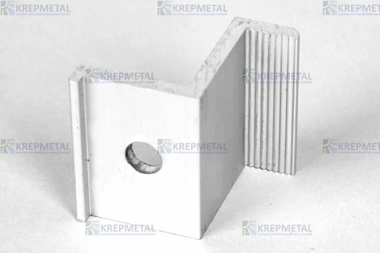 Прижим крайний Z-образный для крепления панелей 35 мм или 40 мм