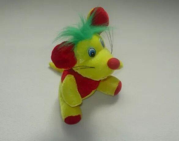 Весёлая мягкая игрушка, мышонок, 20 см.