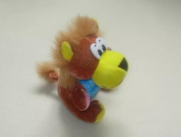 Весёлая мягкая игрушка, львёнок, 20 см.